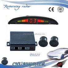 Buzzer 22mm Car Parking Sound Alert System Backup Radar 12V Reverse Car Parking Sensor with 4 Sensors