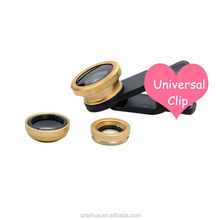 Phone accessories, universal clip 3 in 1 lens for mobile phone