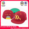 China snapback cap/hat manufaturer offer Acrylic/Cotton/Wool custom snapback hats