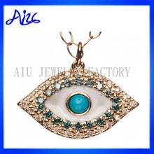 Factory Direct Big Evil Eye Charm Pendant Design