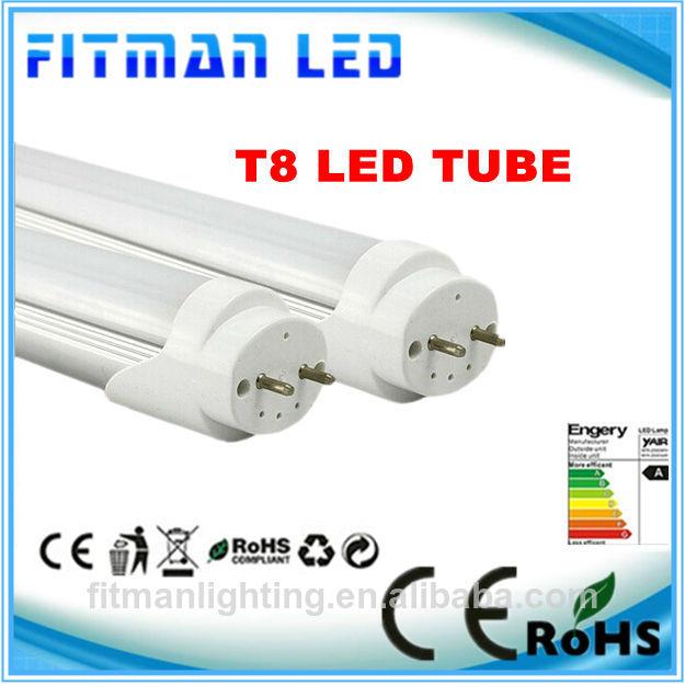 largo tiempo de vida útil y de alta calidad 18w 4 los pies de la lámpara led de tubos con el ce y rohs