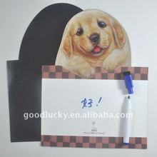 2012 promotional gifts dog whiteboard with mark pen