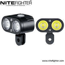 Military Level Quality,Unique Twin-head Design, Super Bright, LED Bicycle Bike Headlight