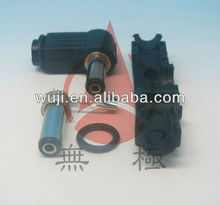 dc plug with screw terminals 2.8mm x 5.5mm