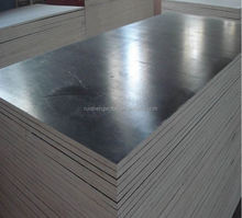 poplar core black film faced shuttering plywood