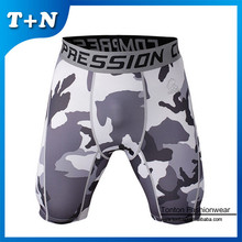 Cut and sew funny boxer fight shorts for men