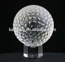 Wholesale 2015 Basketball Design Customized k9 Crystal Glass basketball Trophy Ornament