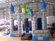 2015 New design inflatable castle, inflatable air castle, inflatable castle with slide