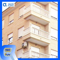 Remote Control Metal Roll Up Windows