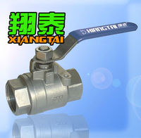 Stainless Steel 2 Piece Full Bore Ball Valve Screwed End XT Valve