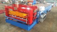 Hydraulic galvalume Steel Glazed Tile Making Machinery/single sheet roof sheet glazed roll forming machine 840