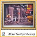 260 g de poliéster impermeable lona de arte, material de la decoración mural