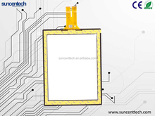 """12"""" lcd touch screen for embedded system GG Glass Cover usb multi touch screen overlay kit"""