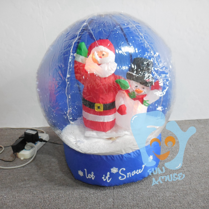Globe buy christmas yard snow globes yard snow globes unique