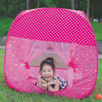 Fashionable cool funny child play kids tent and sleeping bag set