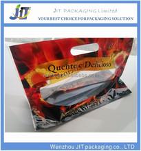 Wenzhou Manufacturer customized printing zipper top hot roast chicken bag