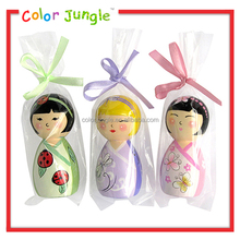 5 inch wooden baby dolls toys wholesale, wood baby dolls that look real