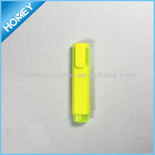non toxic highlight pen with plastic highlighting caps