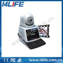 720P I.3M Mobile view Alarm P2P WIFI IR Audio IP Video Phone Home Security Camera