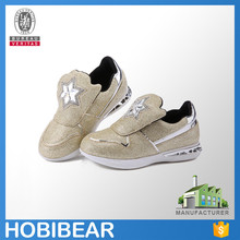 HOBIBEAR latest male and female fashion children sport shoes crystal sneakers shoes