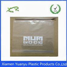 Wholesale cheap custom printed drawstring clear plastic bag