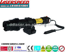 tactical weapon mounted 100mw GREEN LASER DESIGNATOR