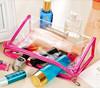 PVC waterproof toiletry organizer pouch wash makeup storage bags