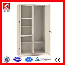 2 door used metal wardrobe office desk with locking drawers