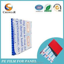 Blue Pe/Plastic Protective Film For Aluminium Sheet