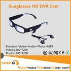 720 P Eye Wear sports câmera óculos de sol com função mp3