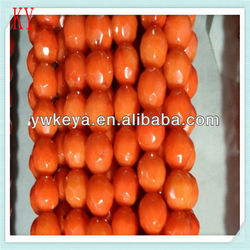 rough 10mm natural orange coral