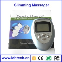 Personal slimming Massager with 4pads For Body Beauty Massager Product