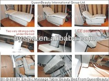 Electric Massage Bed Facial Table with Diamonds and Four Motors (8818H)