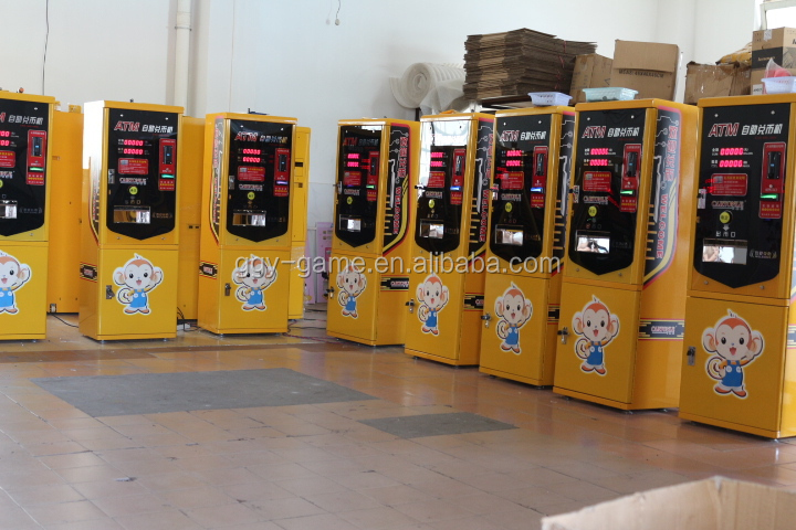 change machine vending