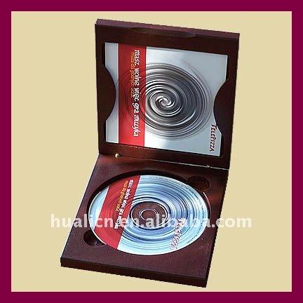 Moda De Madeira MDF CD/DVD de armazenamento Caixa