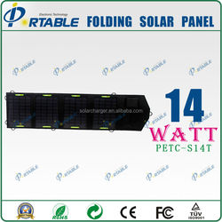 solar cell 14W battery charger import solar panels