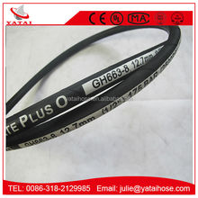 1 Inch Black Hydraulic Fluids Braided Rubber Hose Price