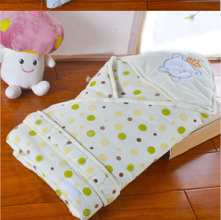 Baby Bamboo Blanket Pattern: 100% Bamboo Organic Cotton Baby Blankets Thick Knitted