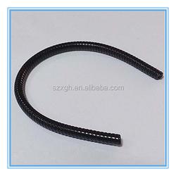 various design rubber coated gooseneck tube , silicone gooseneck pipe , chrome plating gooseneck tube