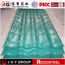 zero spangle printech well curve corrugated sheet steel for roofing