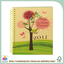 recycled perforated notebook made in china 7 inch