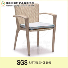 2015 Newest Design Wicker Chair / Ver Nice Open Weaving Poly Rattan Chair / Nice Design Wicker Dining Chair