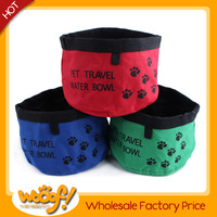 Hot selling pet dog products high quality travel dog bowl