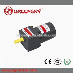 Brand new electric motor 48v 7kw 60mm dc gear motor with high quality