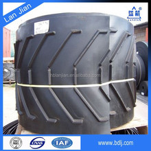 Abrasive polyester fabric endless patterned conveyor belt for agricultural ( Professional )