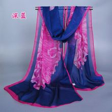 wllaw Chiffon scarves scarves wholesale trade supply of Hangzhou silk factory direct full batch of new deals XQ126