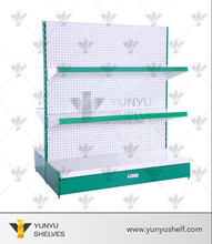 wholesale yunyu double-sided supermarket rack for the shop
