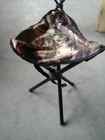three legs chair fishing with cooler bag