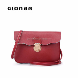 Wholesale Colorful Small Size PU Leather Crosee Body Bags For Women/Ladies/Students
