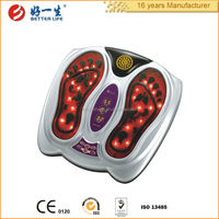 electric foot stimulator with eletrode pads